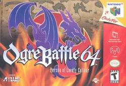 Ogre Battle 64 - Person of Lordly Caliber (USA) Box Scan